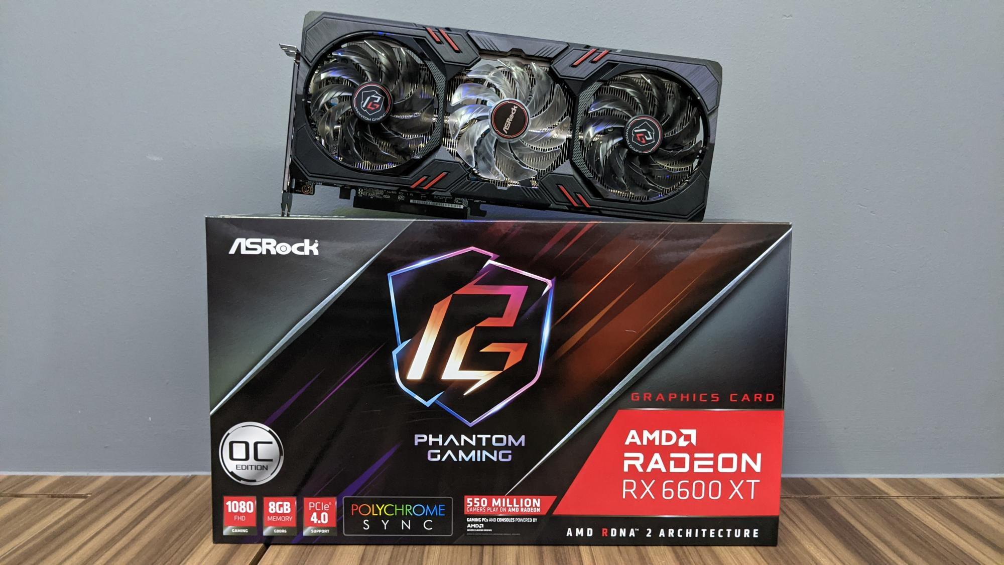 Does the US$379 AMD Radeon RX 6600 XT perform well with budget parts?