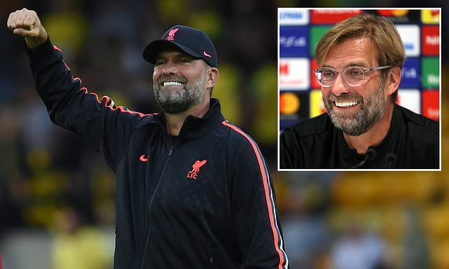 Jurgen Klopp 'has eye operation' which means Liverpool boss 'no longer needs trademark glasses'