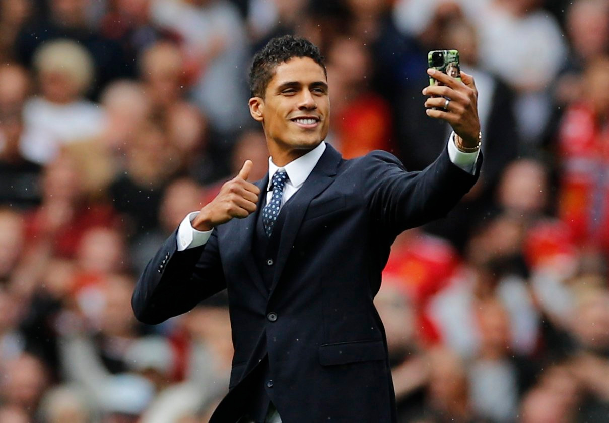 Manchester United finally complete signing of Raphael Varane