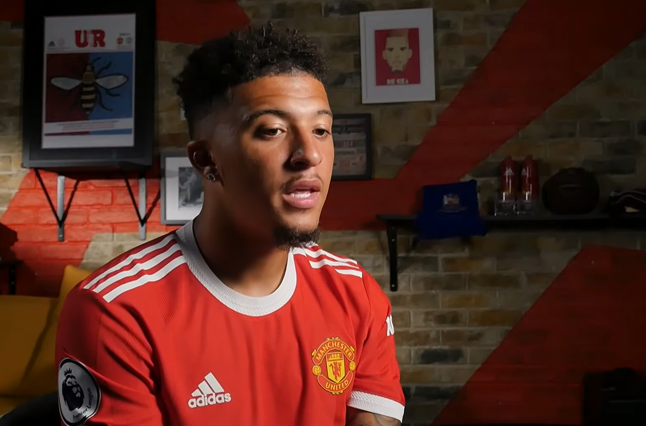 Jadon Sancho reacts to Lionel Messi's PSG move and singles out 'winner' in Manchester United squad