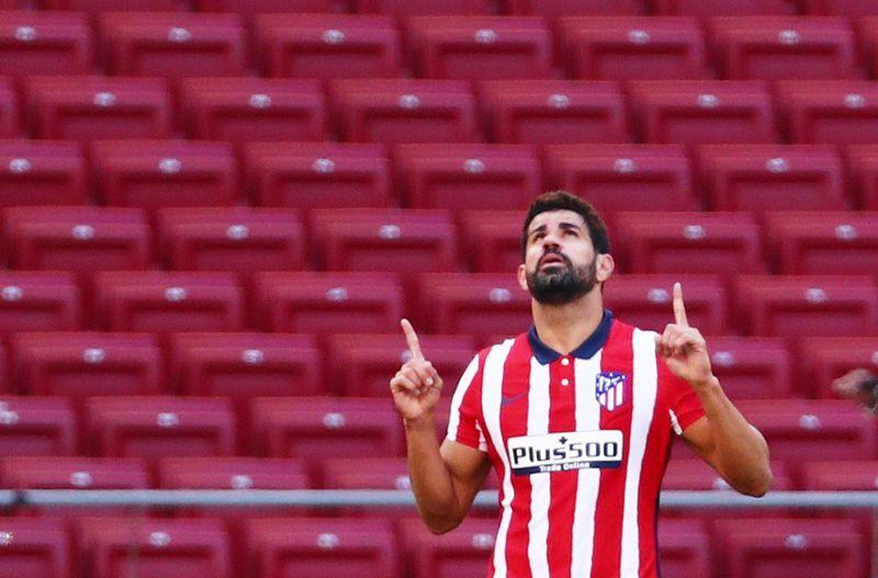 Soccer-Spain striker Costa signs for Brazilian club Atletico