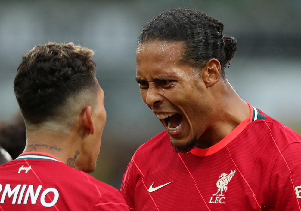 Liverpool too good for Norwich on Van Dijk's return