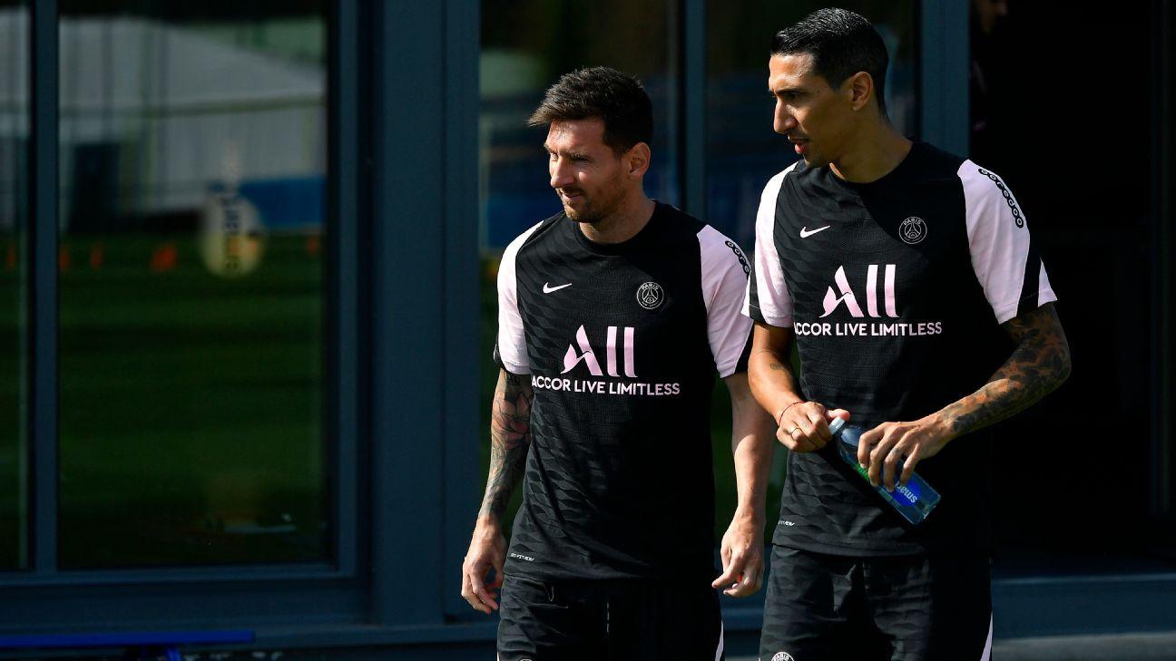Angel Di Maria: 'Much better' PSG signed Lionel Messi over Cristiano Ronaldo