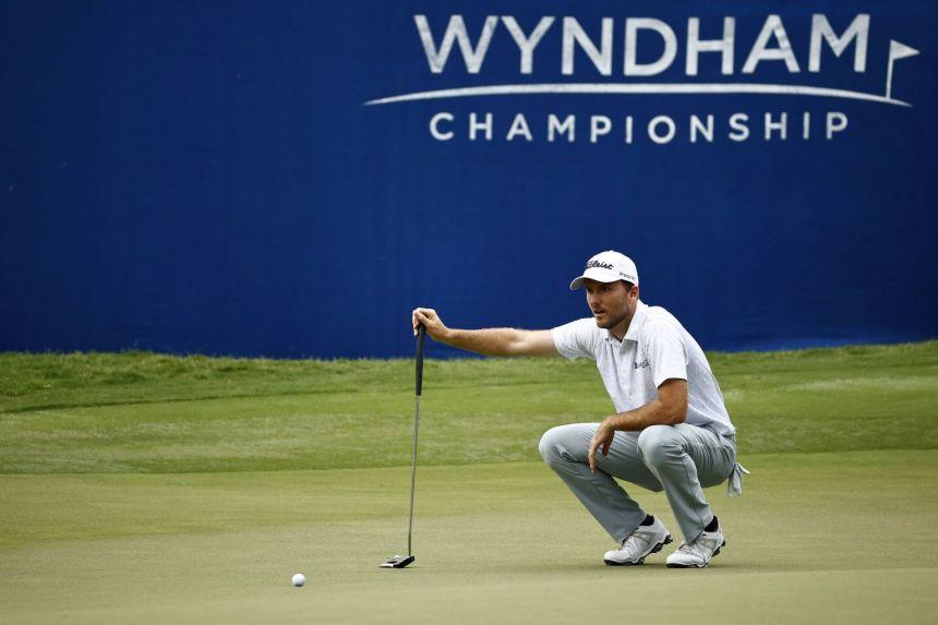 Golf: Eagle helps lift Henley to three-stroke PGA Wyndham lead