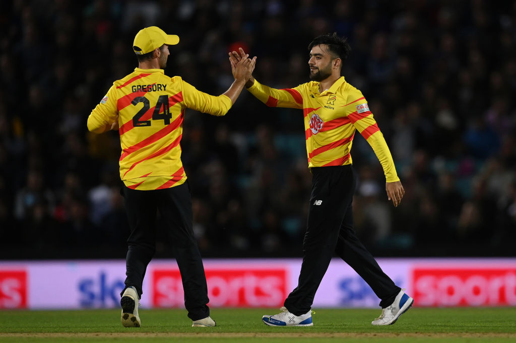 Dawid Malan and Lewis Gregory hail Rashid Khan as Trent Rockets keep Hundred hopes alive with Manchester Originals victory
