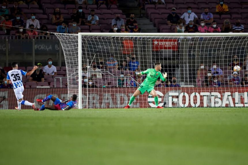 Football: Barcelona begin life without Messi with 4-2 win over Real Sociedad