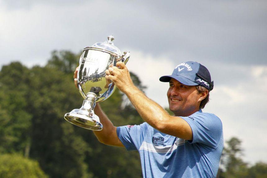 Golf: Kevin Kisner wins six-way playoff for Wyndham Championship title