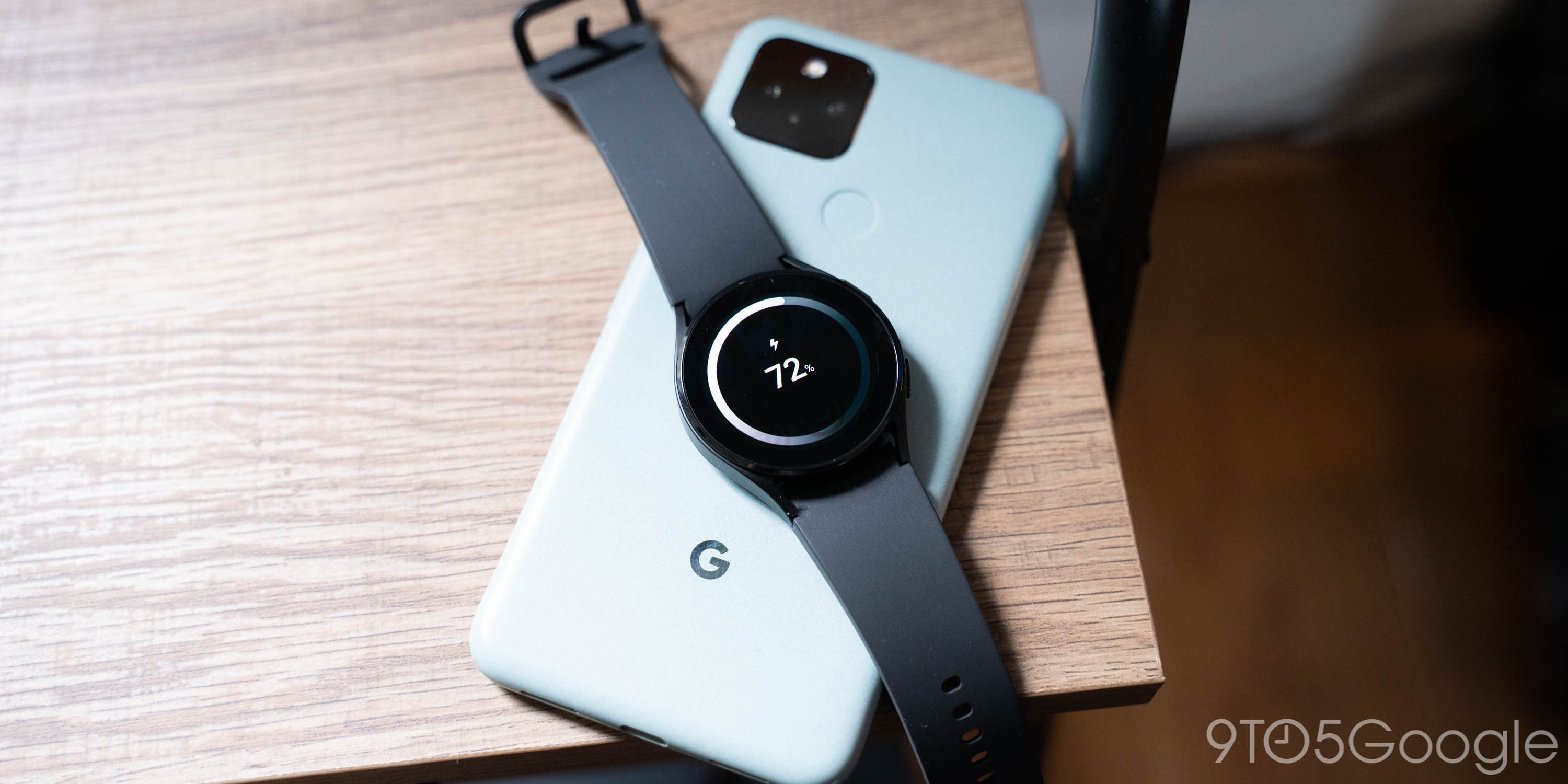 Galaxy Watch 4 works w/ Pixel 5's reverse wireless charging and some Qi pads [video]