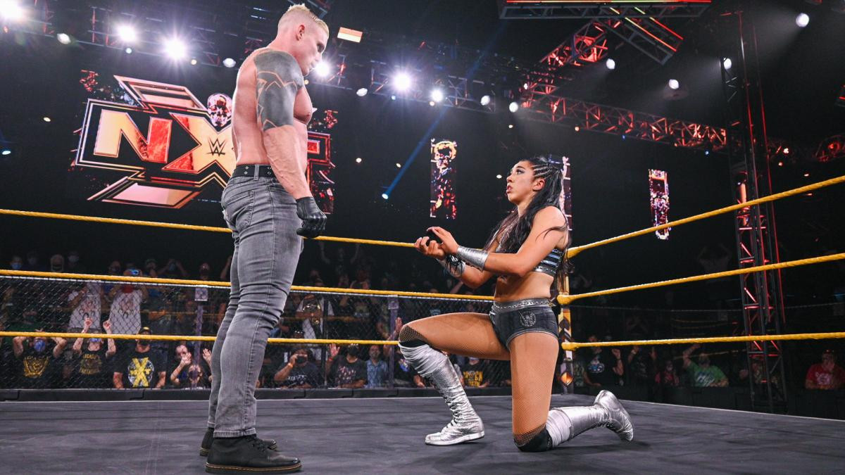 WWE NXT: Indi Hartwell and Dexter Lumis are engaged after she pops the question