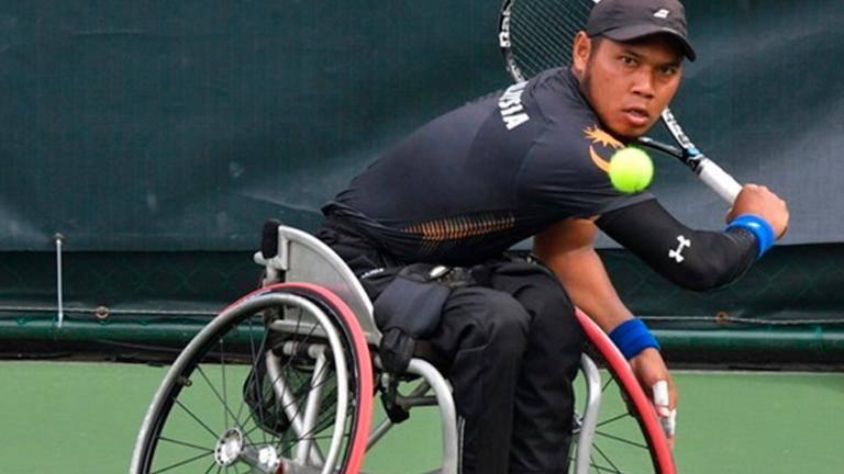 New wheelchair boosts Abu Samah's spirits