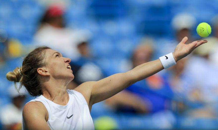 Tennis: Halep pulls from WTA Cincinnati event with thigh injury