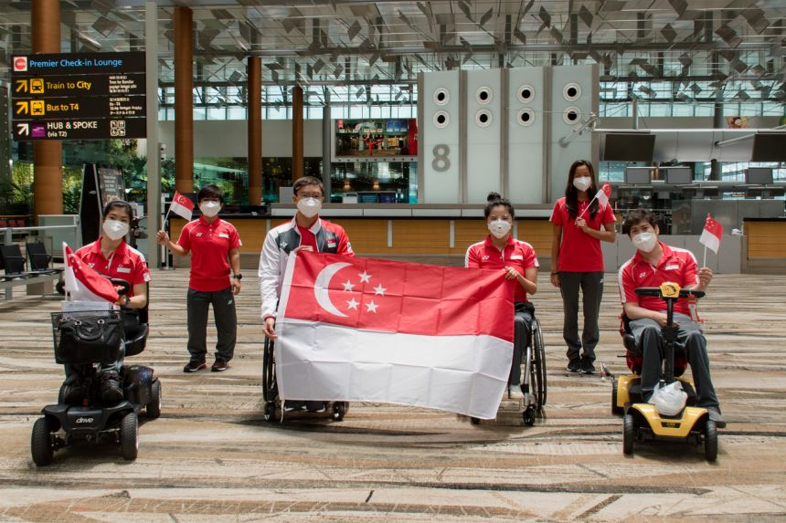 Paralympics: Team Singapore's athletes off to battle at Tokyo Games