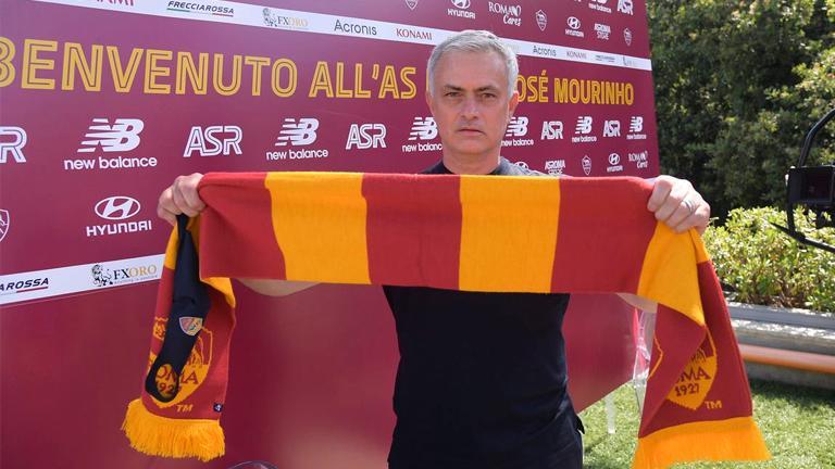 Mourinho 'calm' ahead of competitive Roma bow