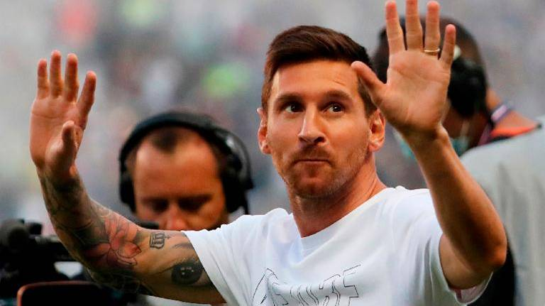 Messi left out of PSG squad for Brest game