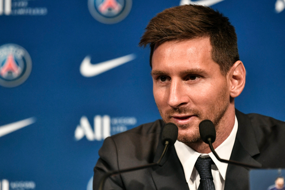 Report: Messi left out of PSG squad for Brest game