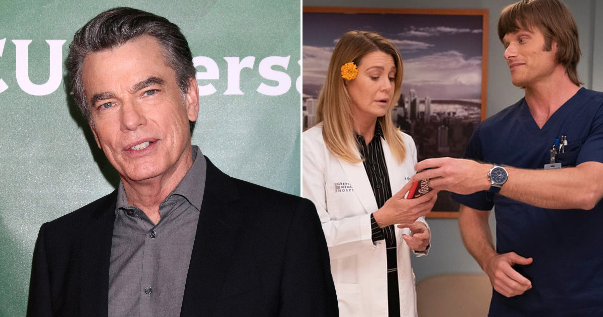Peter Gallagher to reunite with The OC co-star as he joins Grey's Anatomy for recurring role in Season 18