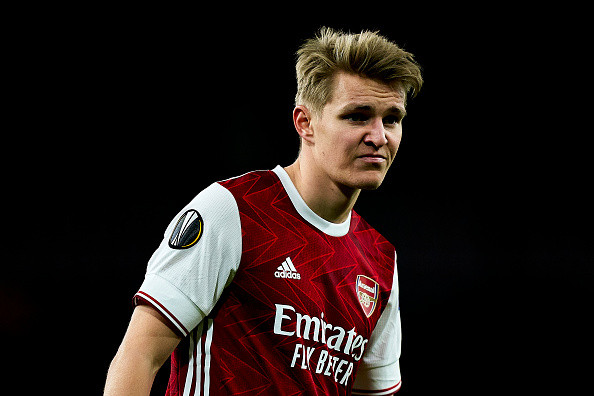 Martin Odegaard completes Arsenal medical with Aaron Ramsdale undergoing his ahead of £26m transfer