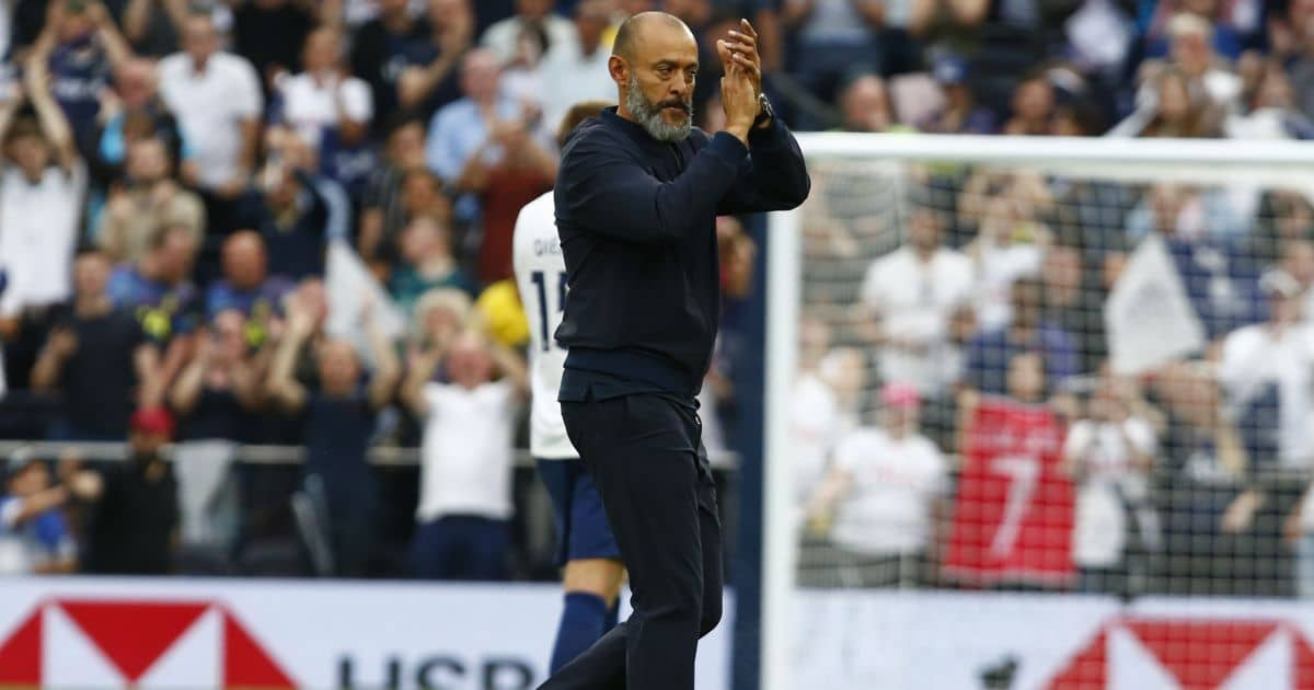 Nuno throws Tottenham star into doubt with 'completely honest' reveal