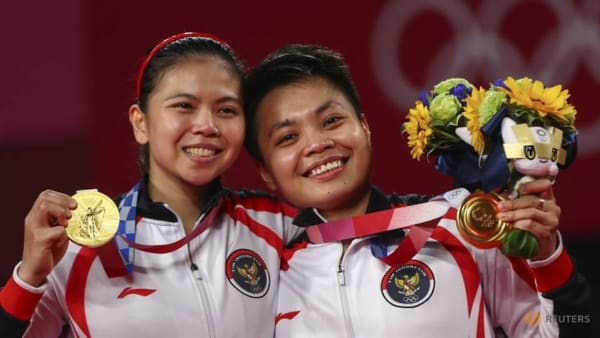 Olympic doubles gold for Indonesia sparks renewed badminton passion in the grassroots