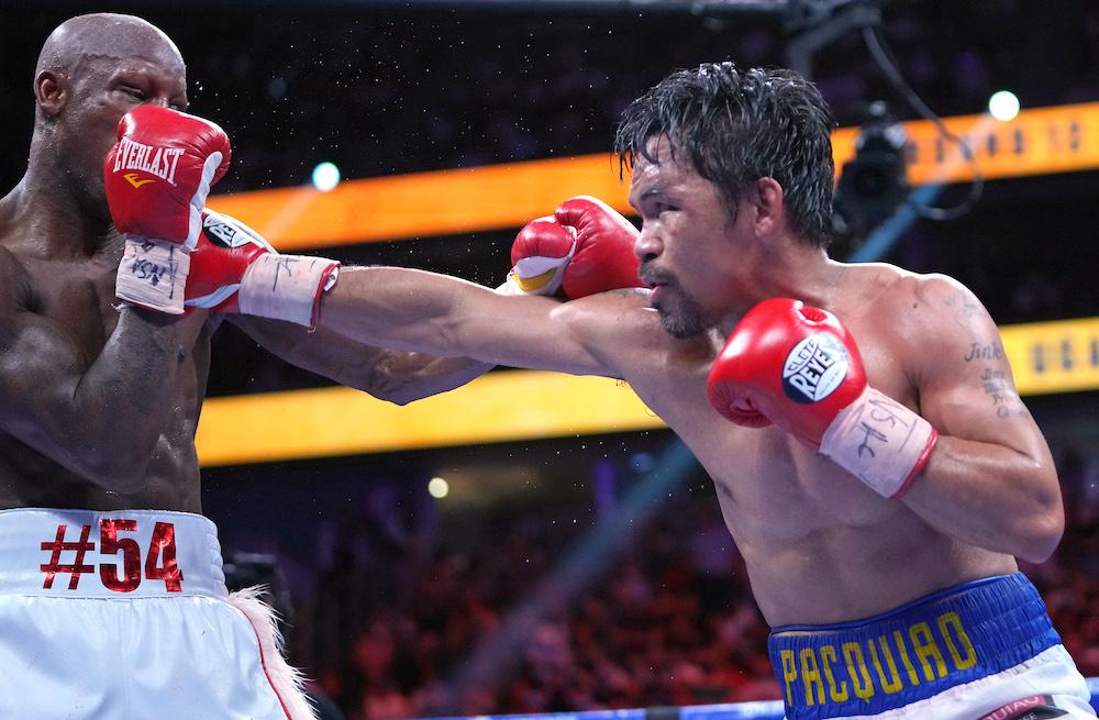 Ugas stuns Pacquiao to retain WBA welterweight crown
