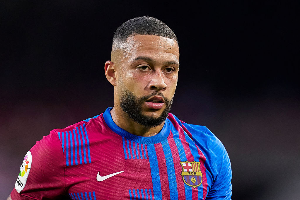 Barcelona star Memphis Depay recalls his Manchester United despite support of top players