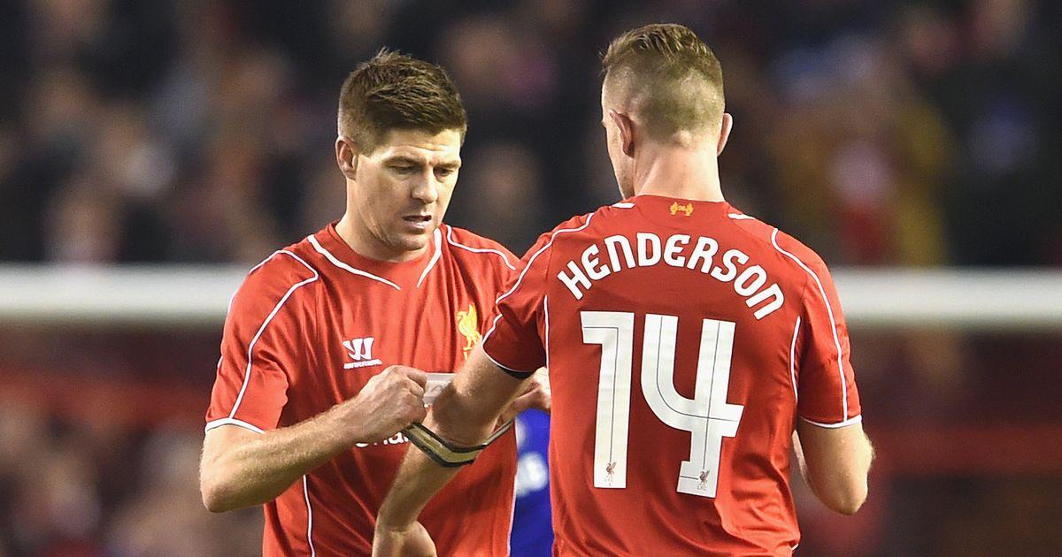 Jordan Henderson makes Steven Gerrard claim and reveals Liverpool red card questions