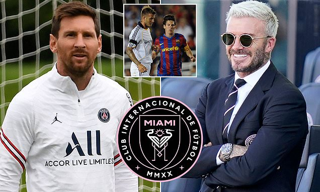 Beckham 'held talks with Messi about ending his career at Inter Miami following spell at PSG'