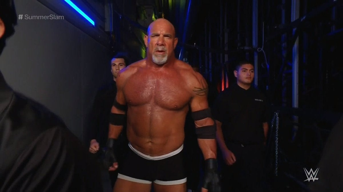Goldberg's WWE Championship Match at SummerSlam Was His Longest in Years