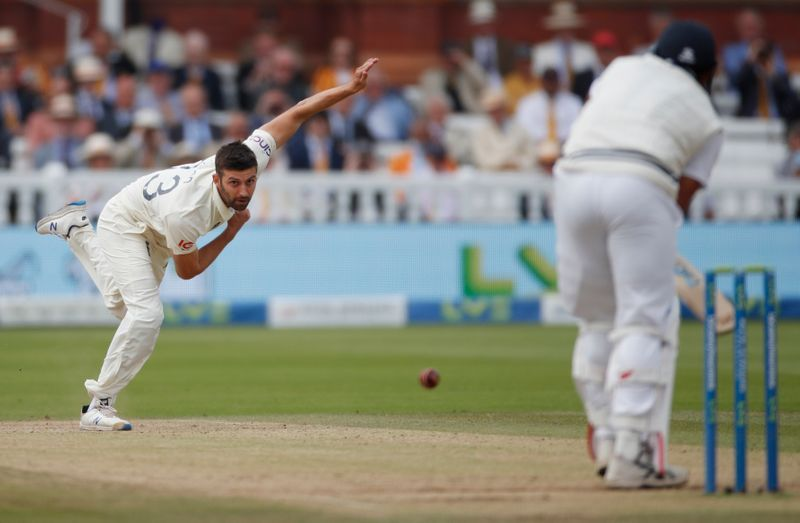 Cricket-England's Wood misses Headingley test with shoulder injury