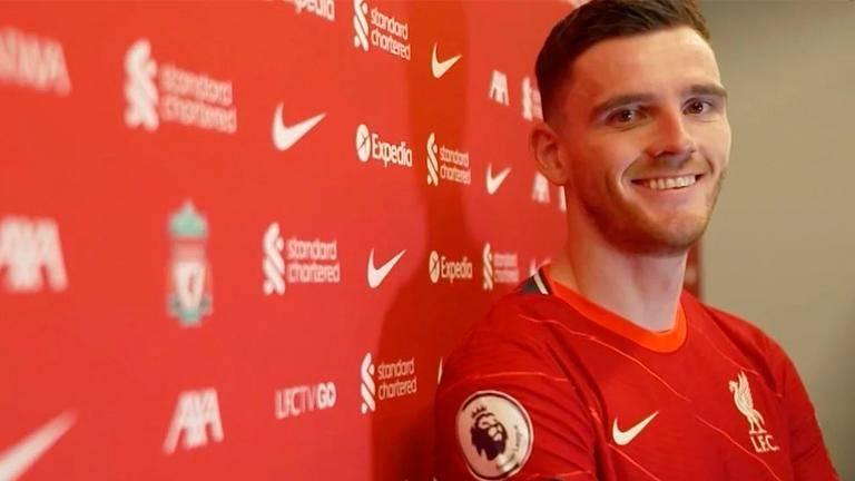Scottish star Robertson commits to Liverpool