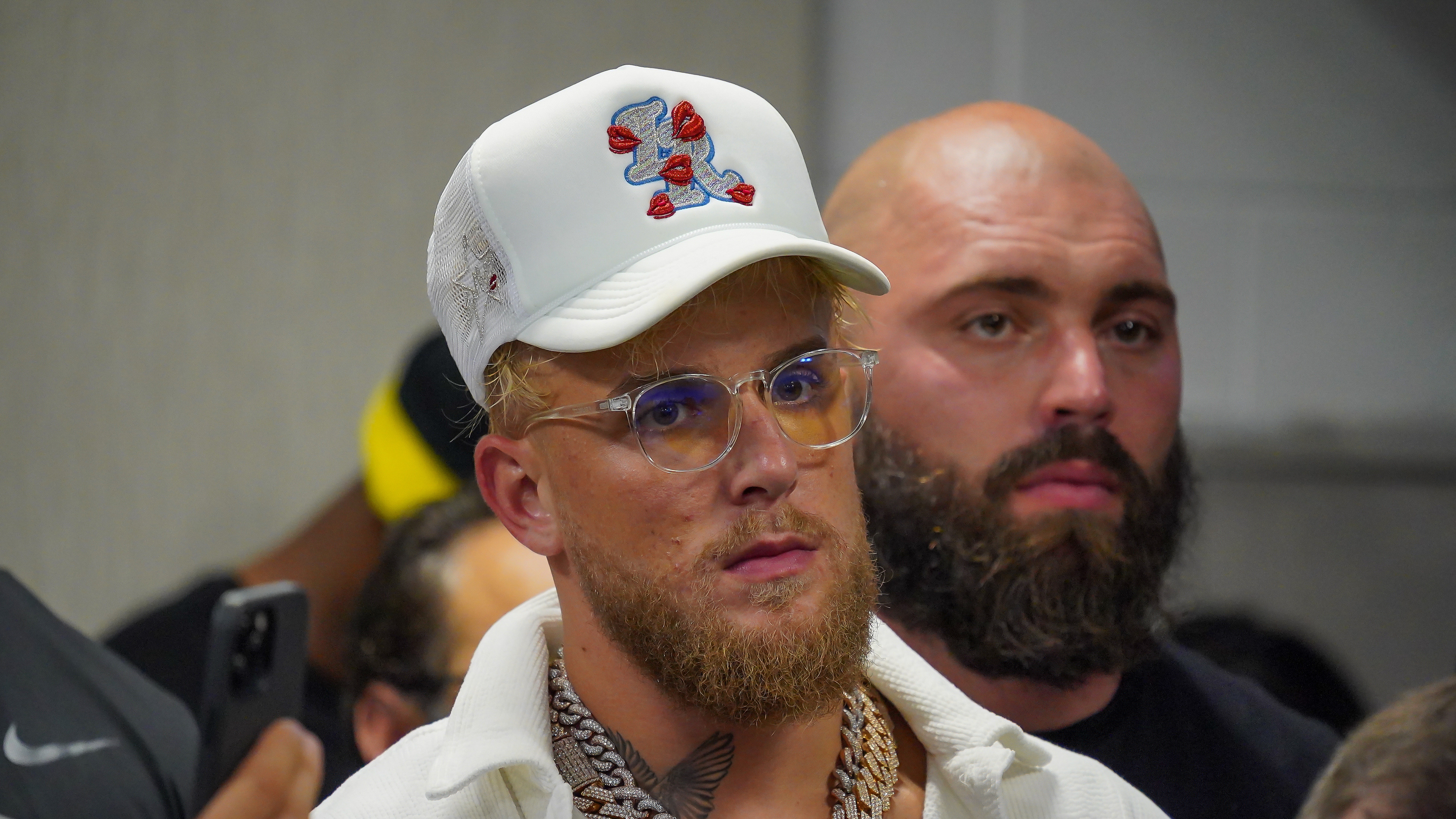 Jake Paul Confirms He Will Have Tattoo Artist At Tyron Woodley Fight To Tattoo Winner's Name On Loser