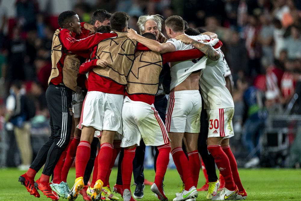 Benfica, Young Boys and Malmo reach Champions League group stage
