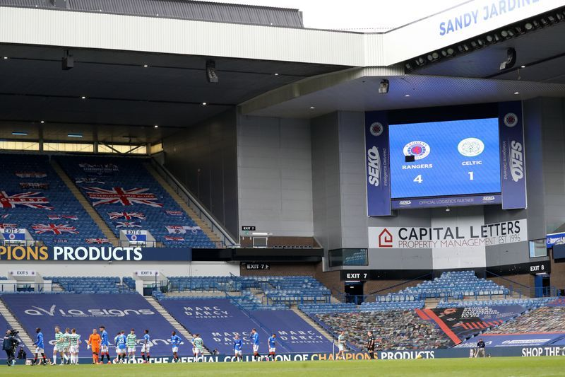 Soccer - Rangers confirm positive COVID tests ahead of Celtic clash