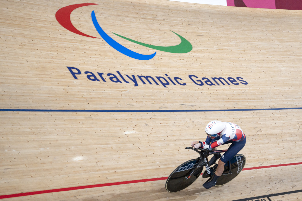 Britain's Storey shines, records tumble on day one of Tokyo Paralympics