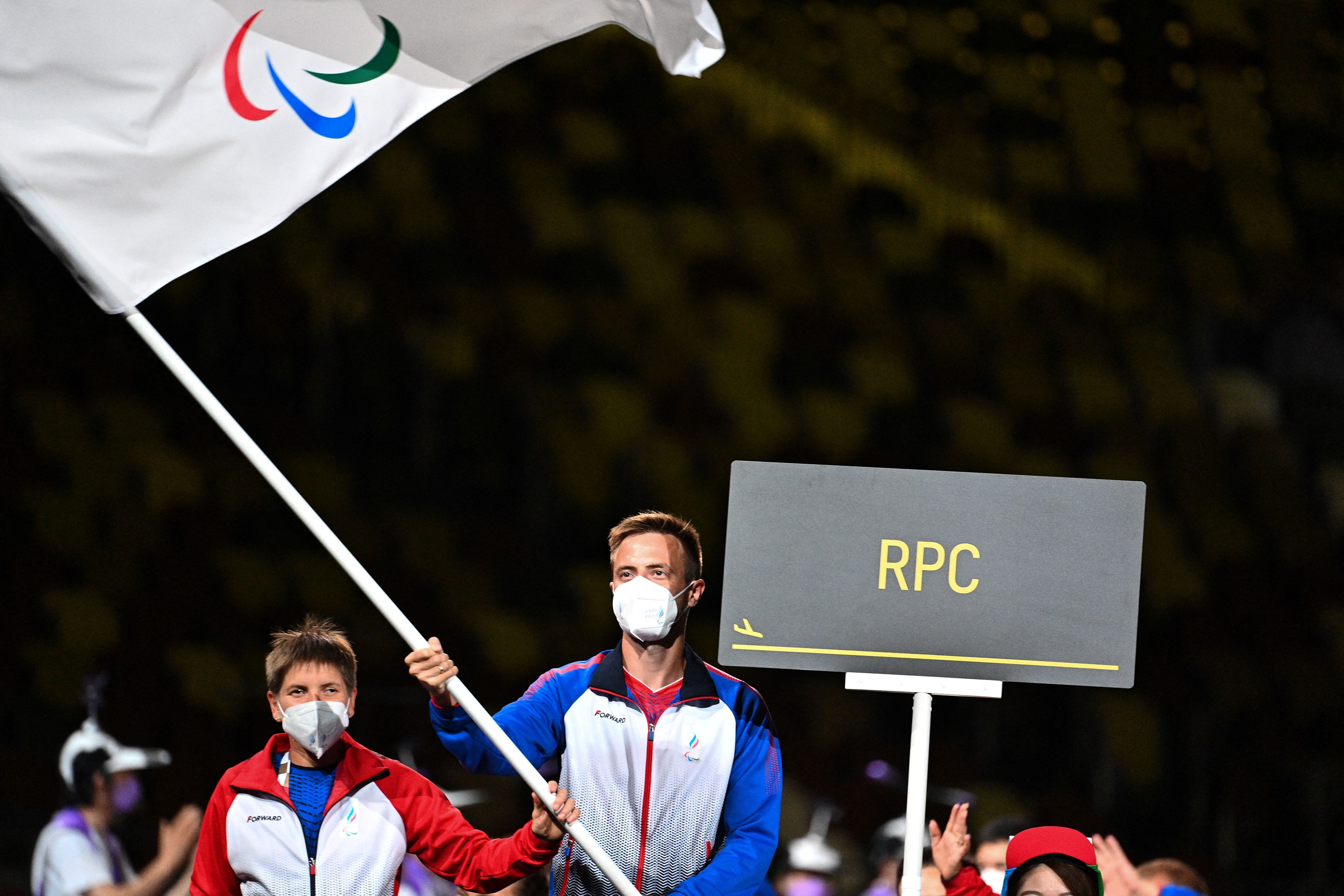 What country is RPC at the Paralympics?