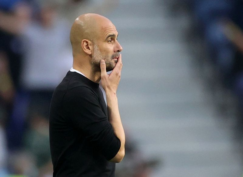 Soccer - Guardiola set to leave Manchester City in 2023