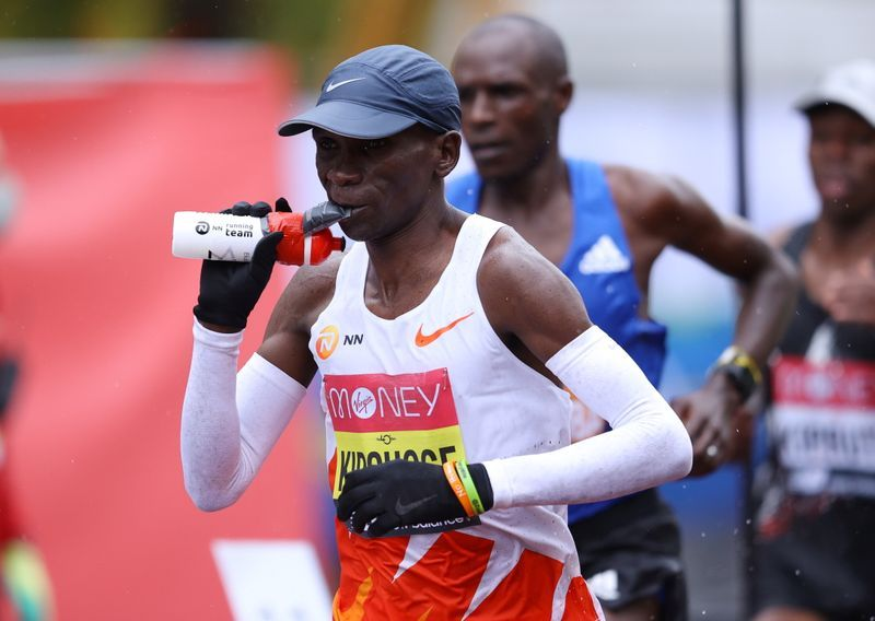 Athletics - Can't move forward without embracing technology, says Kipchoge