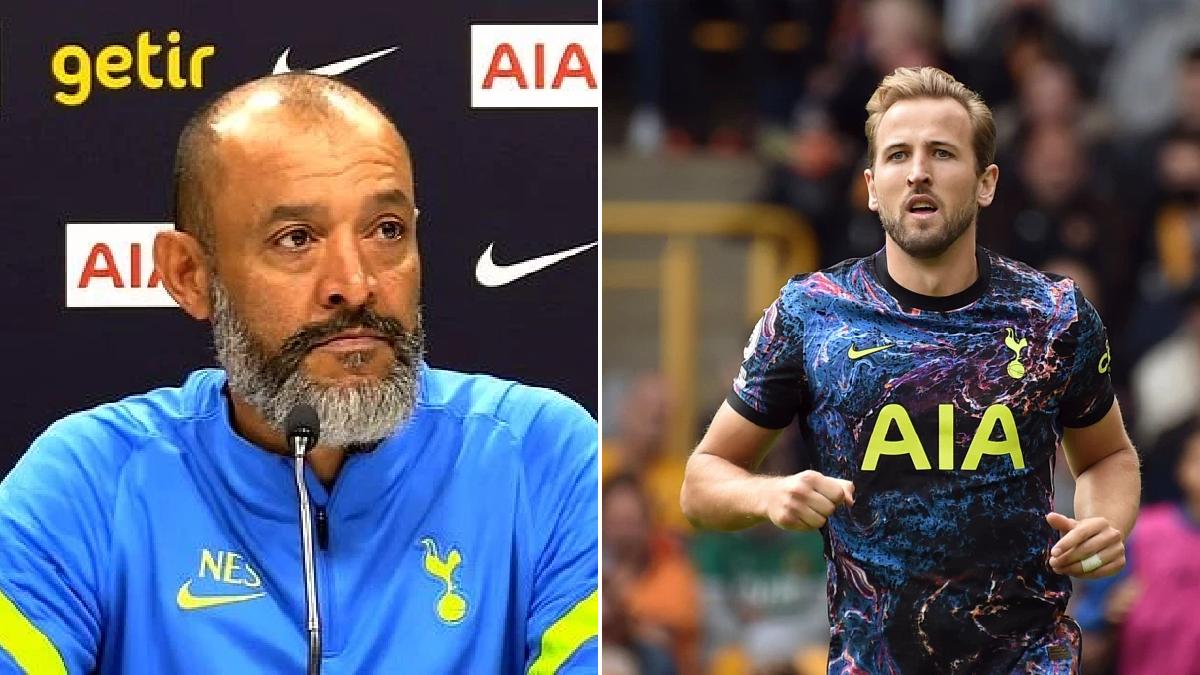 'Fantastic news' – Nuno Espirito Santo reacts to Harry Kane's decision to stay at Tottenham