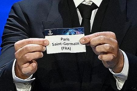 Man City to face PSG in Champions League Group A