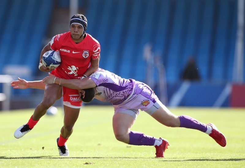 Rugby-South African winger Kolbe joins Toulon from rivals Toulouse