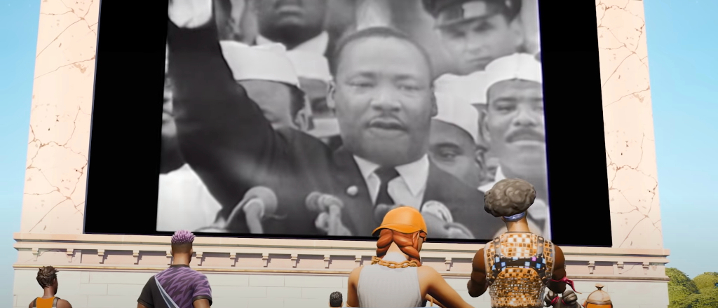 'Fortnite' Is Adding A New Experience That Celebrates 'The Life And Legacy Of' Martin Luther King Jr.