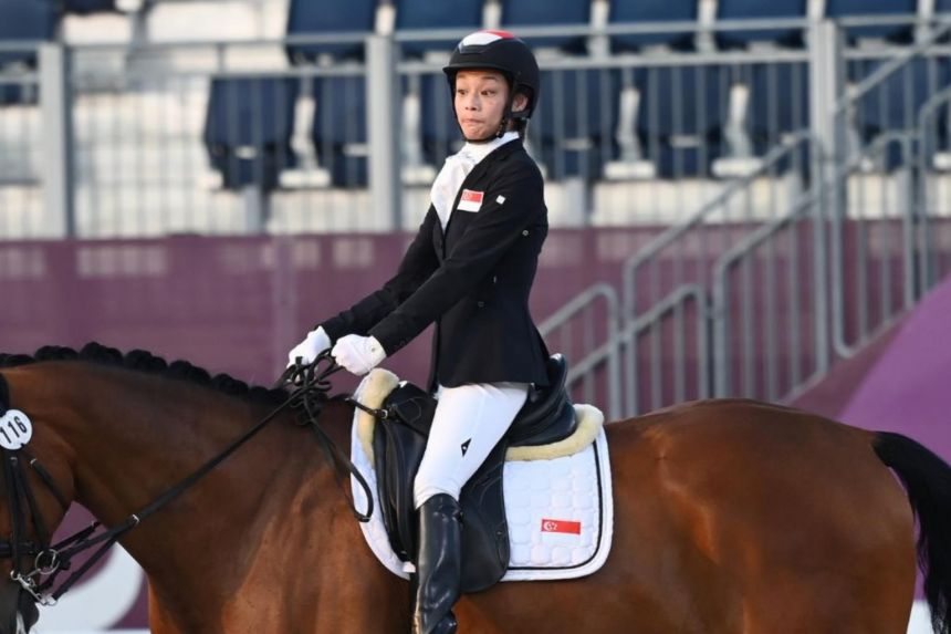 Paralympics: S'pore rider Laurentia Tan misses dressage medal, finishes fifth; Gemma Foo is 17th