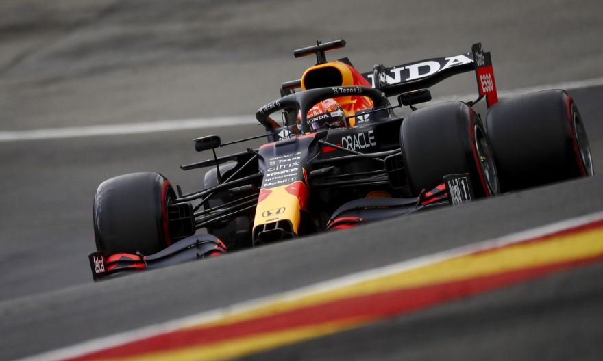 Formula One: Verstappen tops eventful second Spa practice, then crashes