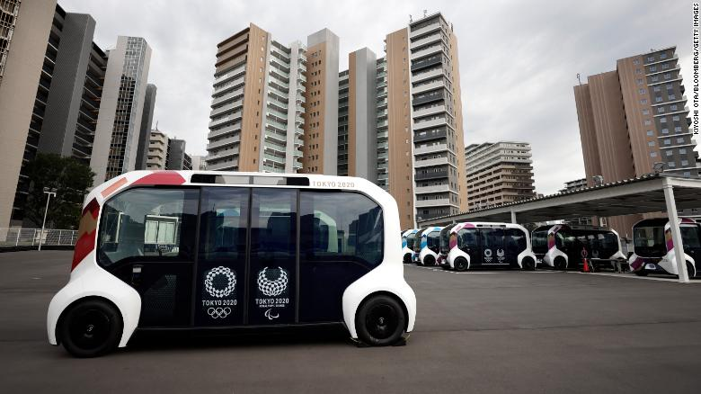 Toyota suspends use of self-driving vehicle in Olympic Village after collision with Paralympic athlete