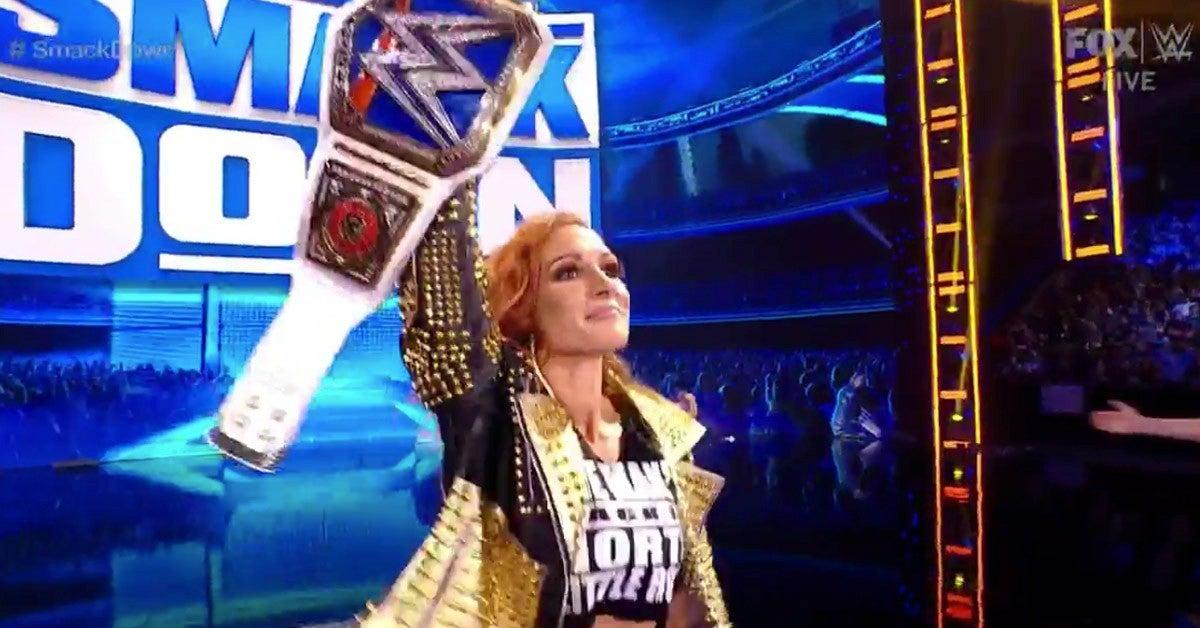 Becky Lynch Denies Bianca Belair's SummerSlam Rematch on WWE SmackDown