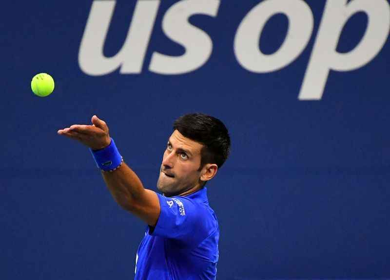 Tennis - Djokovic faces now-or-never moment at U.S. Open