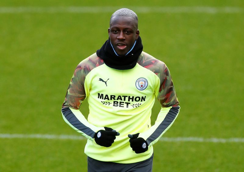 Soccer-Man City's Mendy remanded in custody after court appearance