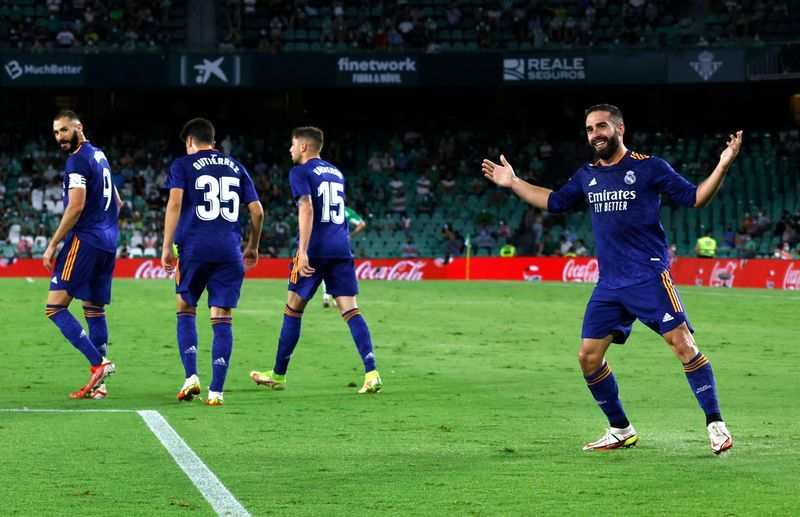 Soccer-Carvajal volley gives Real Madrid second win of season