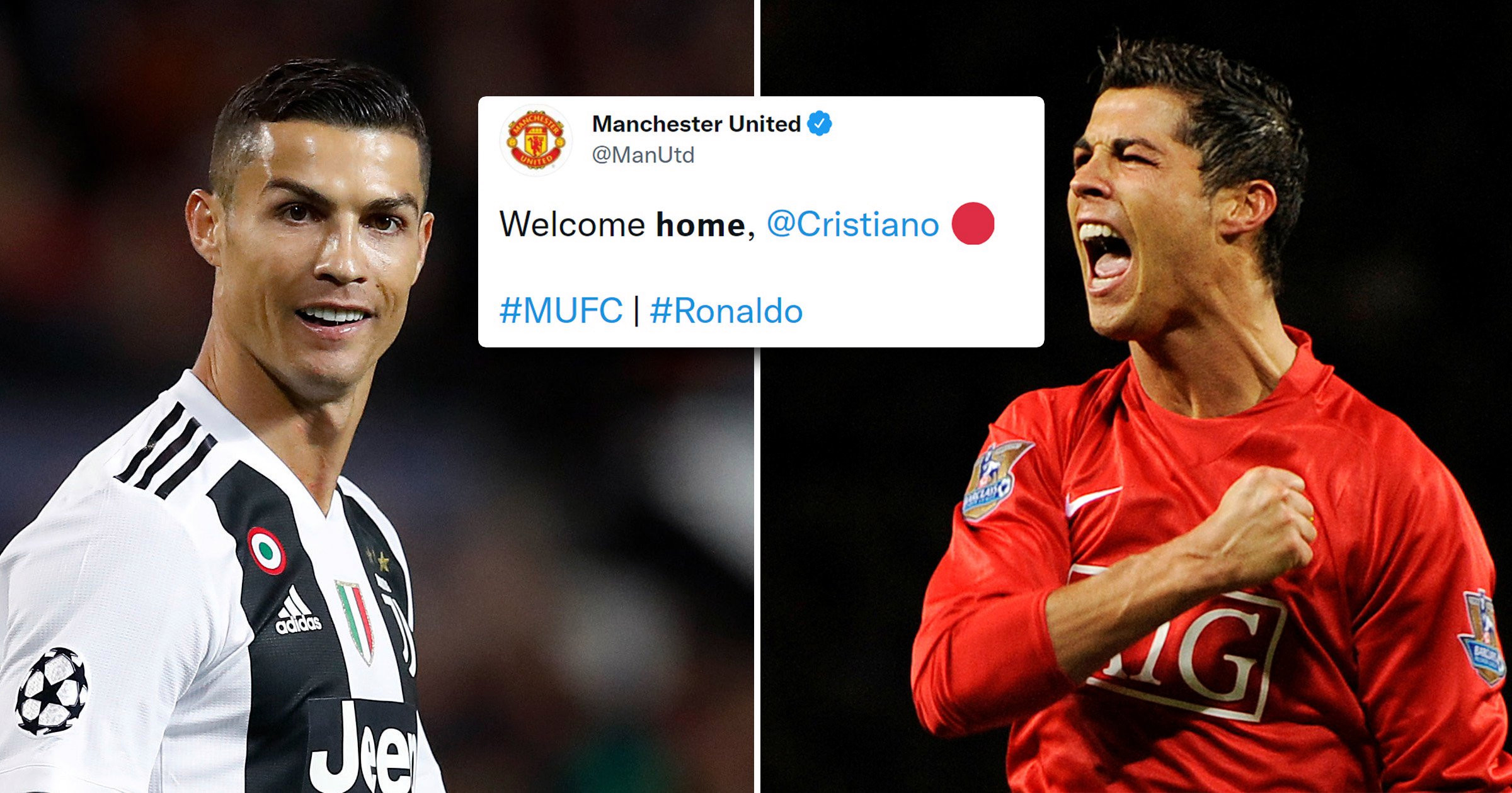 Manchester United officially confirm Cristiano Ronaldo return after agreeing deal with Juventus