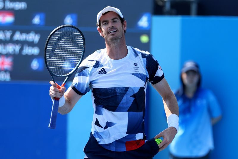 Tennis-Murray urges fellow players to get vaccinated